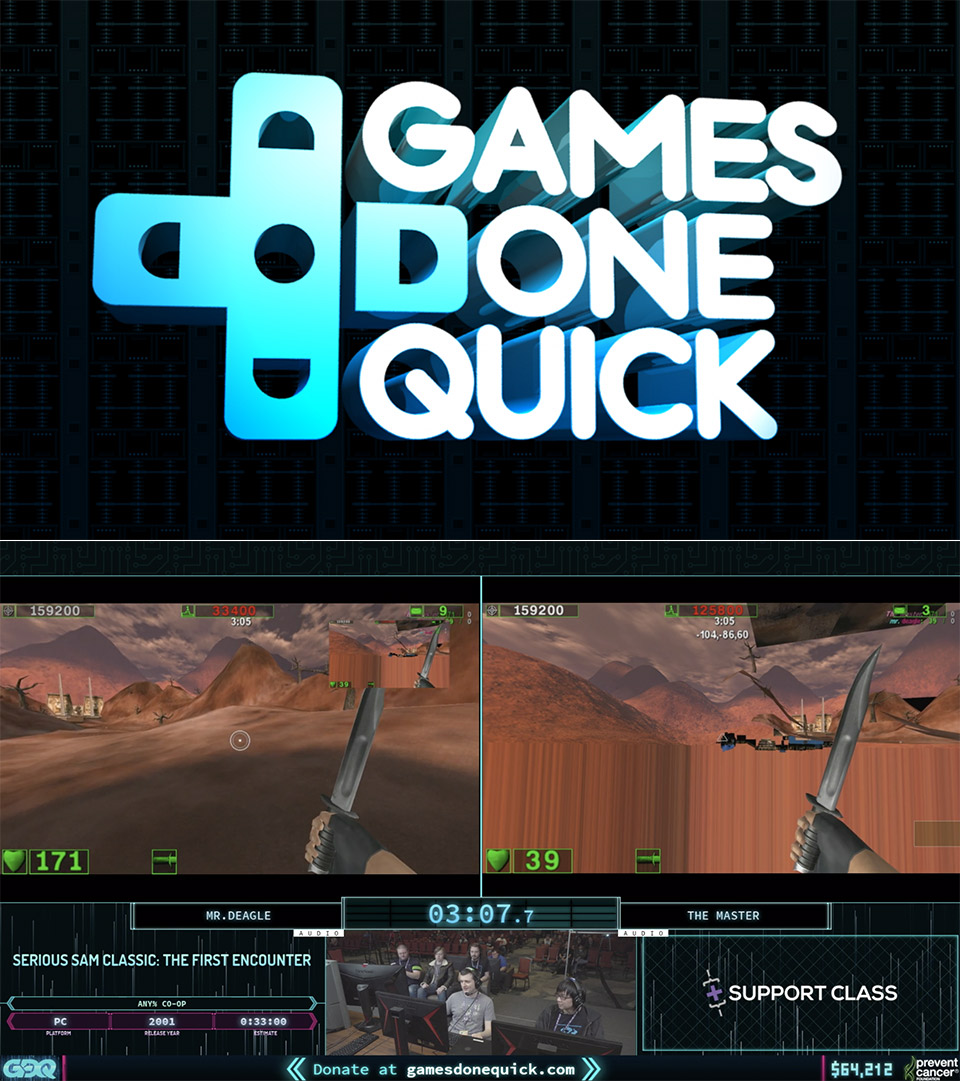 Games Done Quick Speedrun