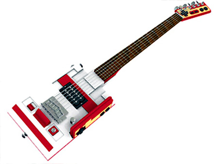 Continue reading to see a few functional guitars made from game consoles.