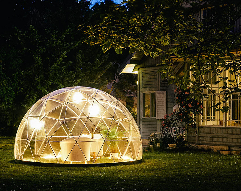 garden igloo is the perfect backyard getaway stands over 7 feet tall. Black Bedroom Furniture Sets. Home Design Ideas