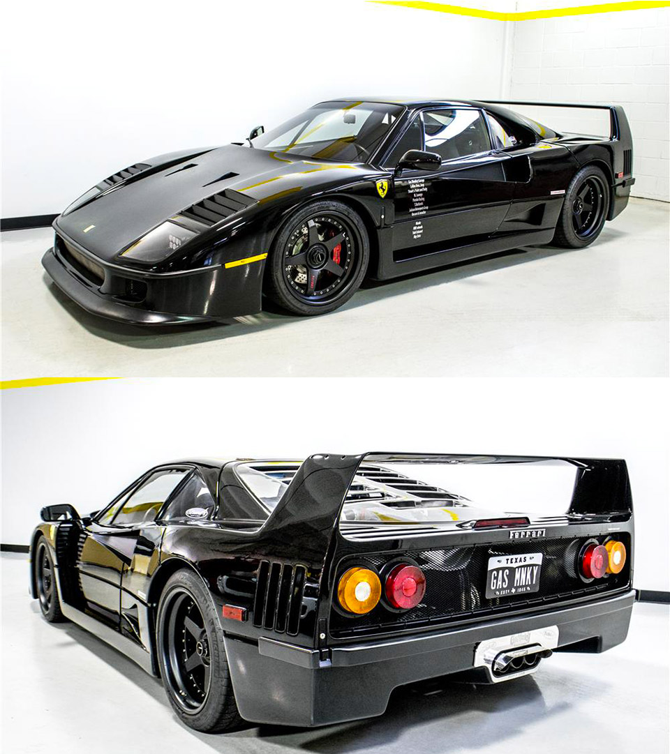Gas Monkey Garage F40