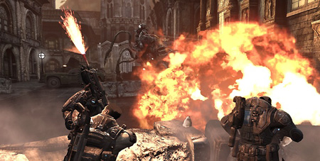 Gears of War 2 Multiplayer Gameplay