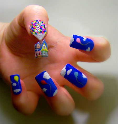 While Nail Art Can be