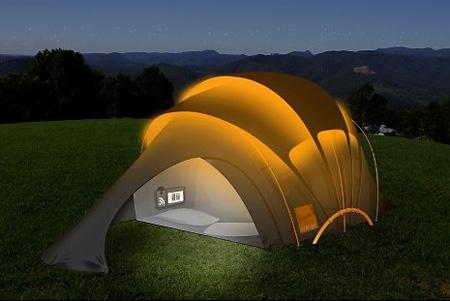 3. Solar Tent & Top 5 Coolest Geek Tents - TechEBlog