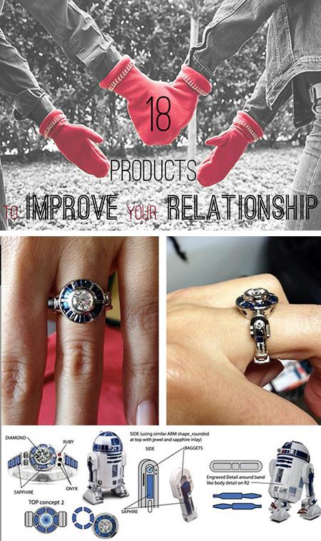 18 Bizarres et Cool Gadgets, accessoires pour Couples geeks