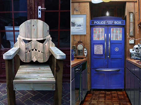 Lovely 10 Of The Geekiest Furniture Pieces Ever