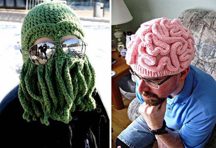 Geeky Winter Hats