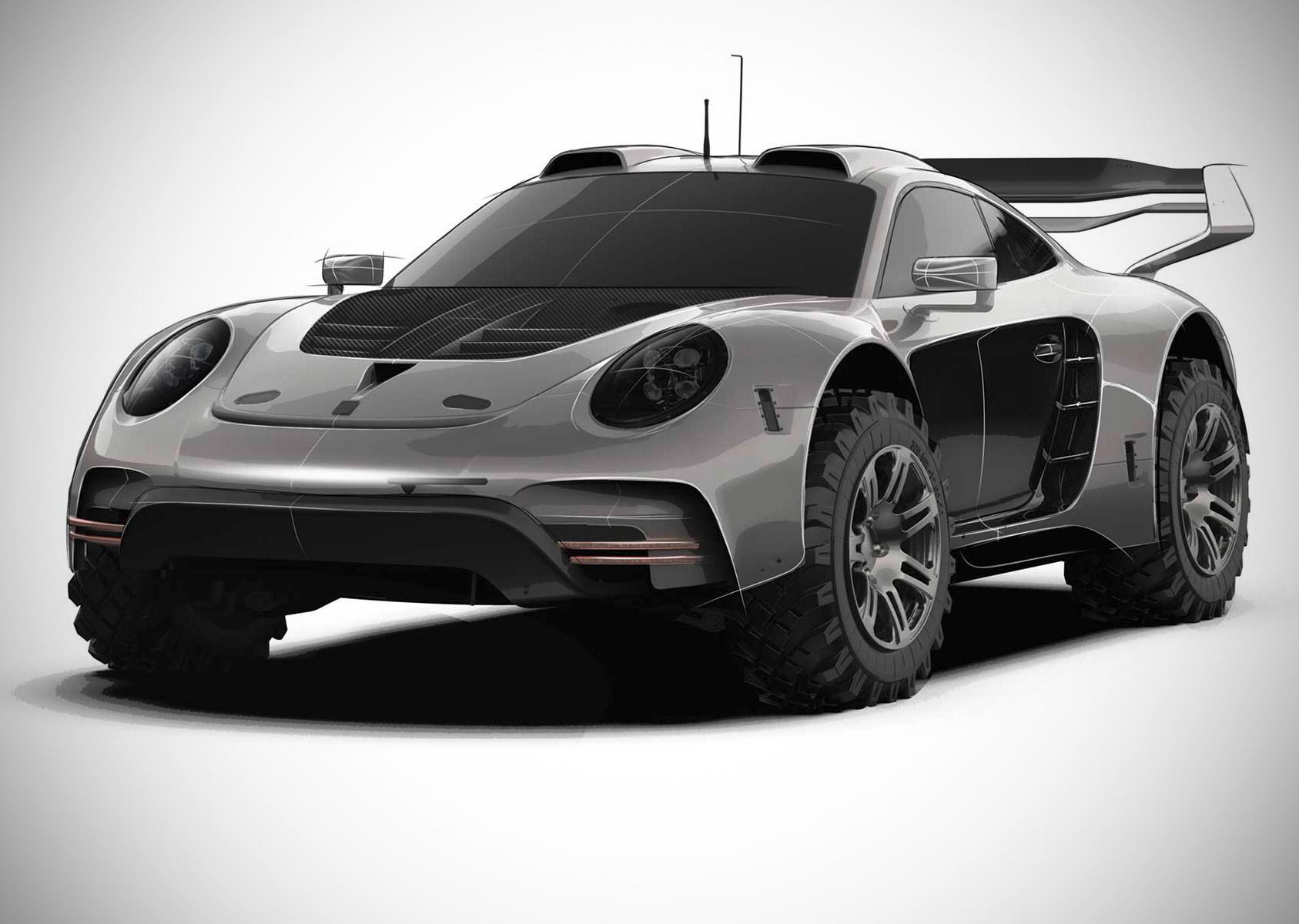 Gemballa Avalanche 4x4 Porsche 911