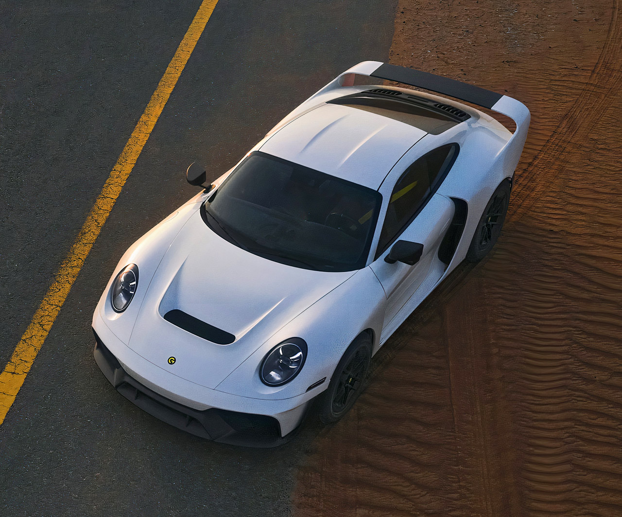Gemballa Marsien Porsche 911 Off-Road Supercar