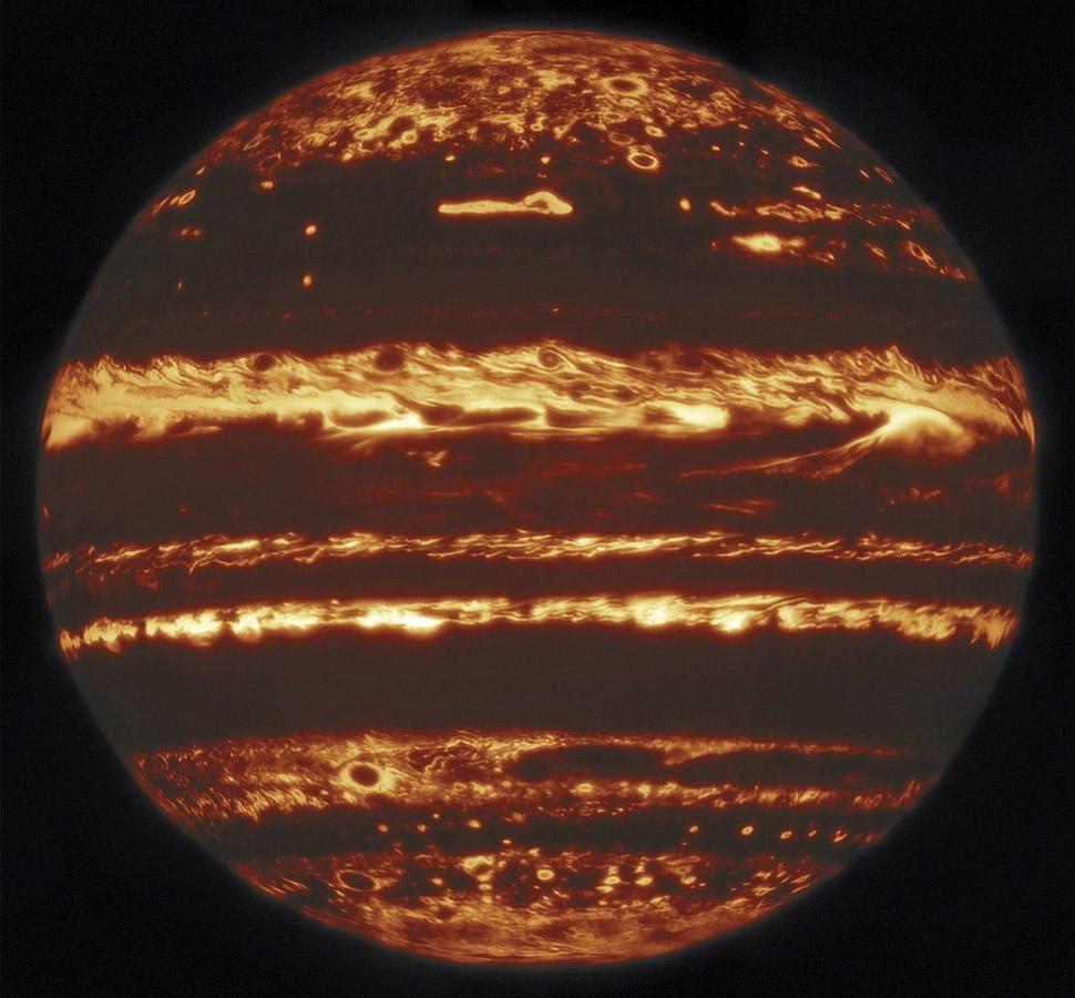 Gemini Lucky Infrared Jupiter