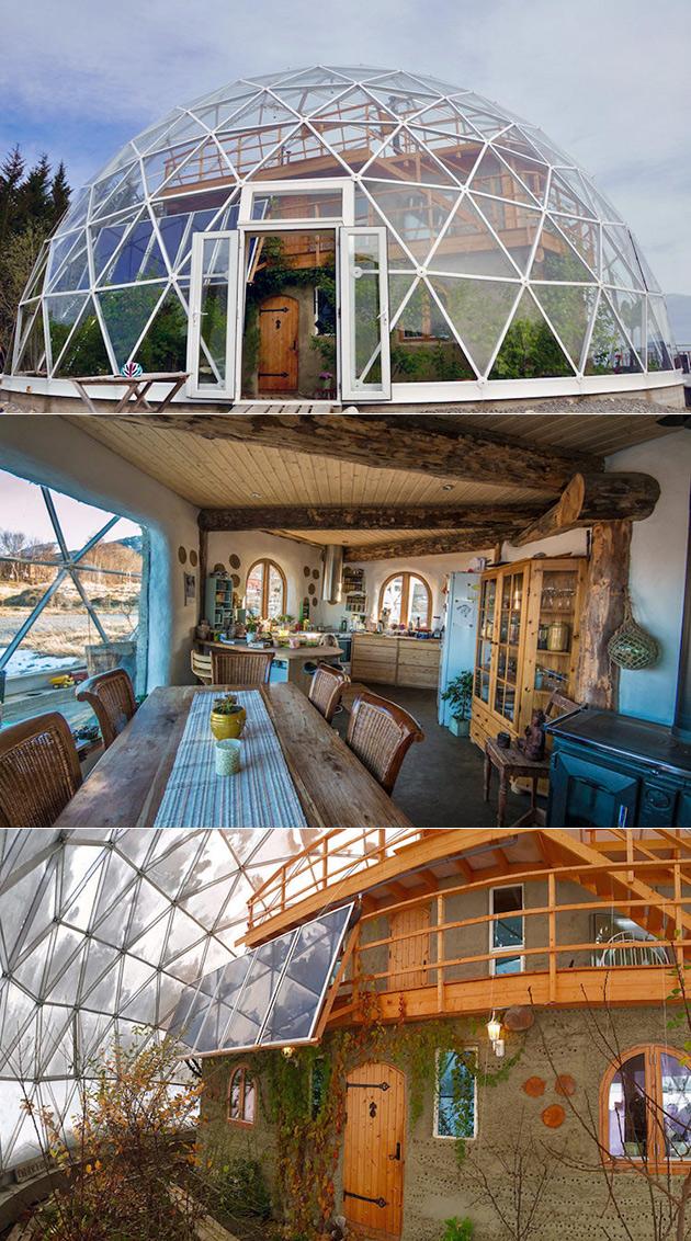 Geodesic Nature Home