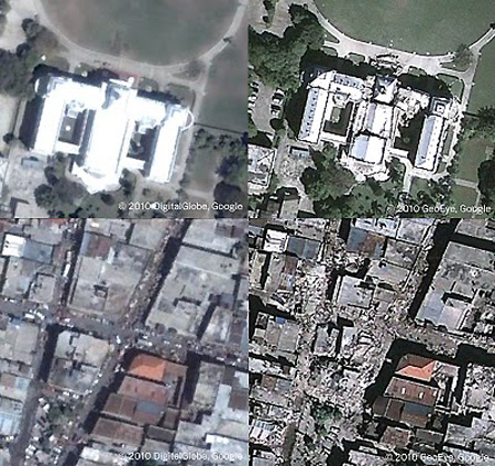 google earth live satellite. Google and GeoEye have joined