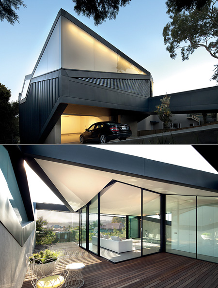 Pitched Roof House The Incredible Geometric Home