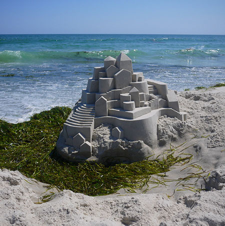 14 Things Only a Geek Would Build at the Beach - TechEBlog