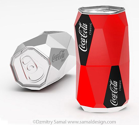 Geometric Coke Can Won't Roll – TechEBlog