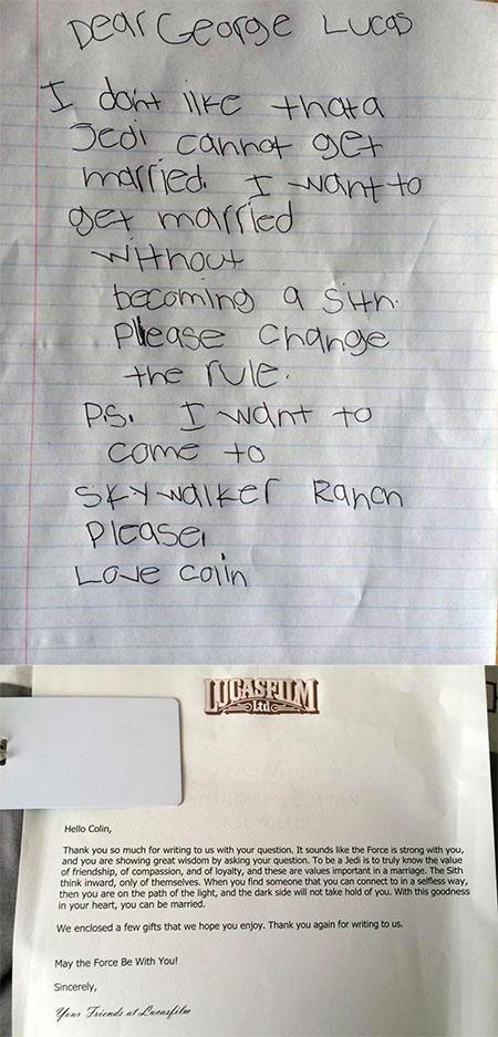 Jedi Marriage Letter