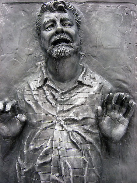 George Lucas in Carbonite
