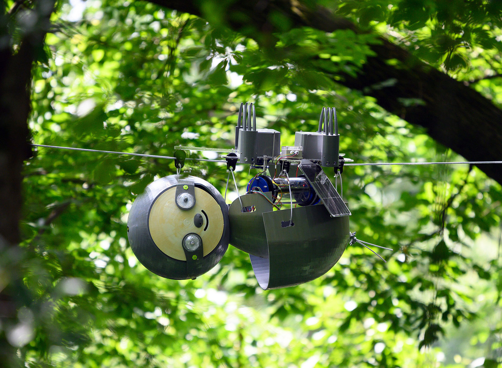 Georgia Tech SlothBot Robotic Sloth