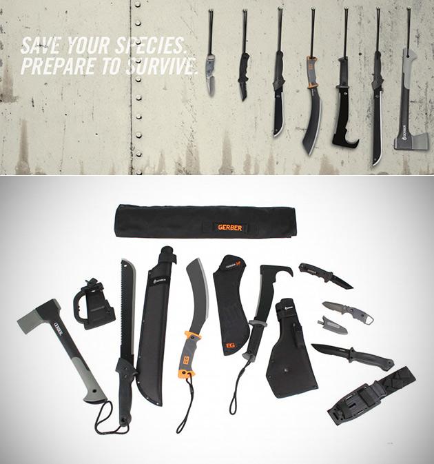 Gerber Zombie Apocalypse Kit