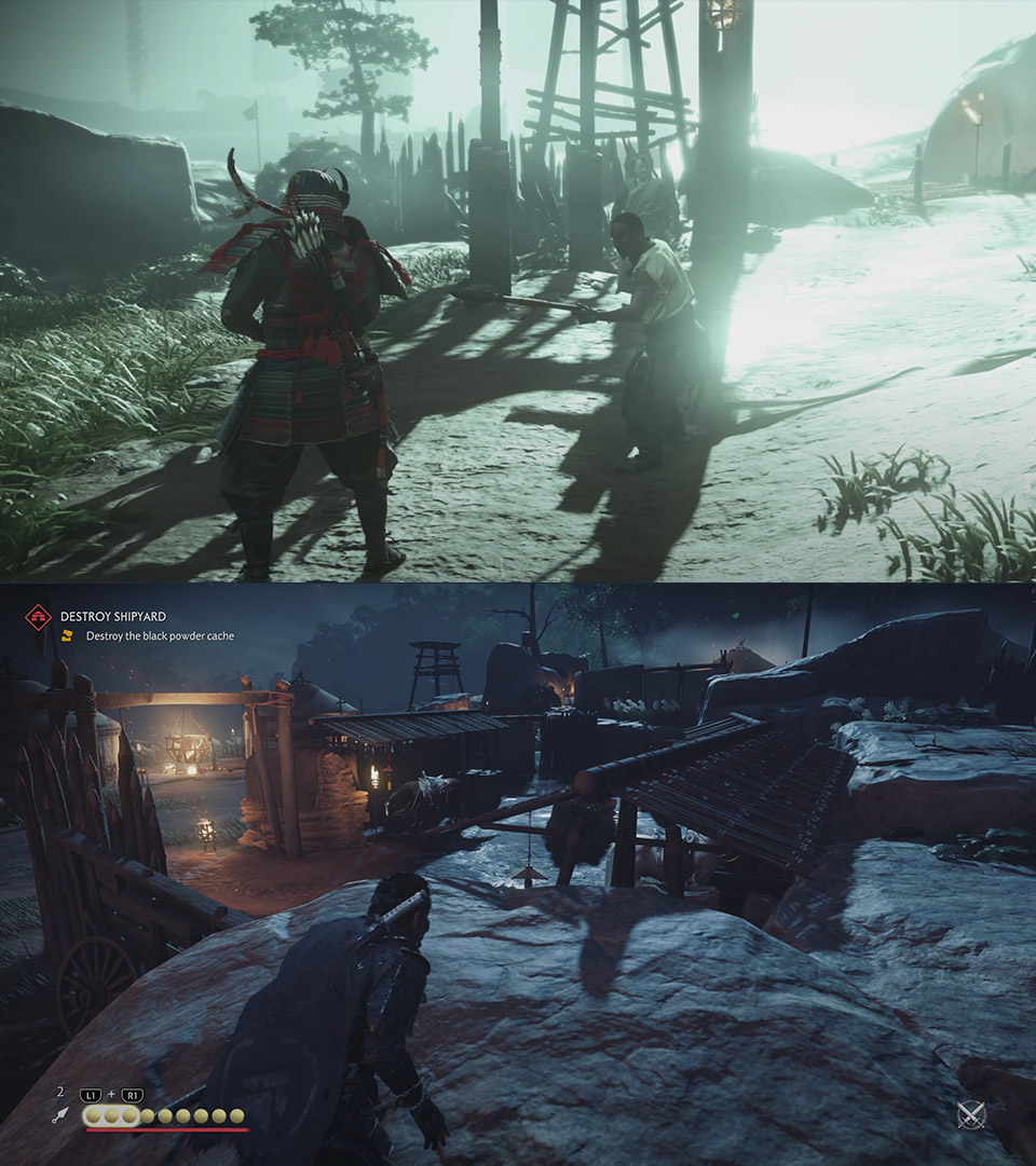 Ghost of Tsushima PS4 Gameplay