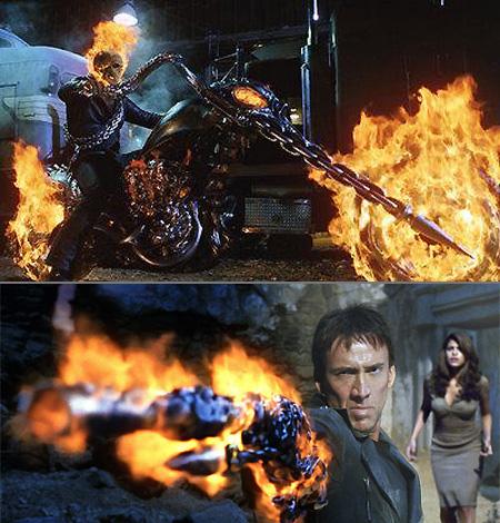 Le plein de nouvelles images pour Ghost Rider 2 - COMIC ... |Ghost Rider Bad Guy Look