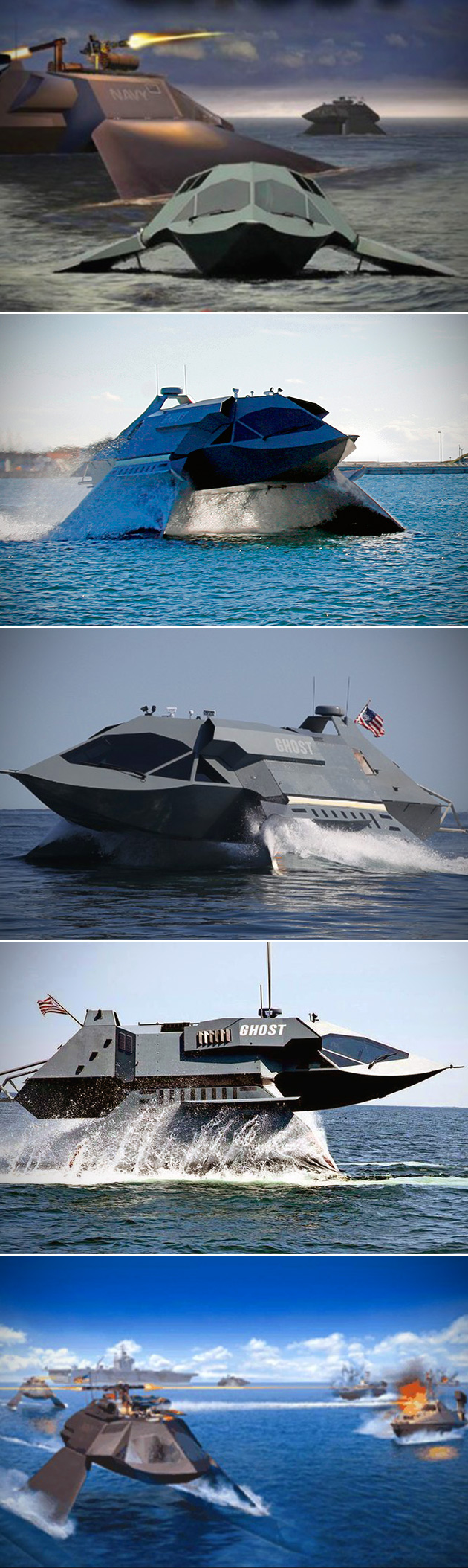 GHOST Stealth Ship