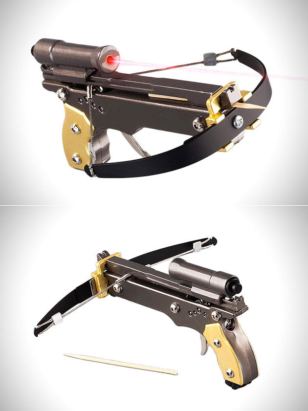 Ghost Hunter Toothpick Crossbow