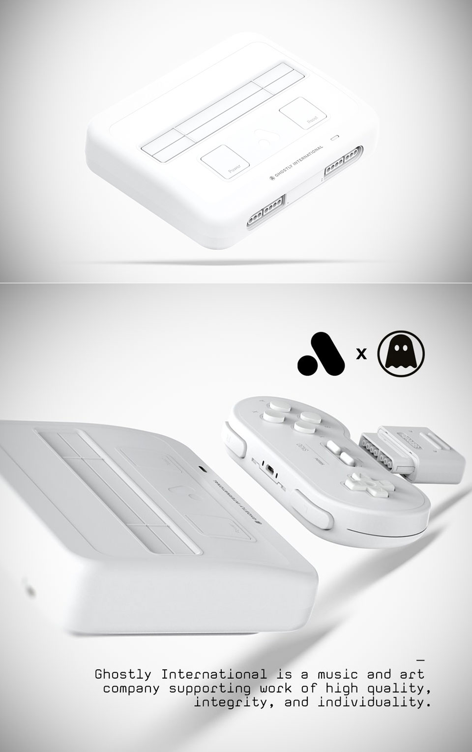 Ghostly x Analogue Super Nt