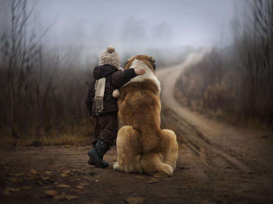 Giant Dog Baby