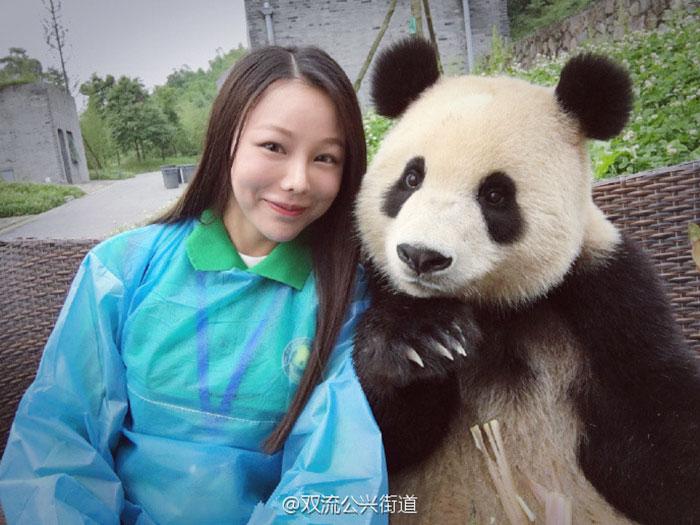 Giant Panda Selfie