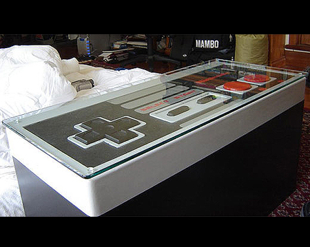 When Not In Use, This Coffee Table Looks Like Any Other. Plus, It Even Opens  Up To Reveal Storage Space. Plug It Into An NES And The Table Turns Into A  ...