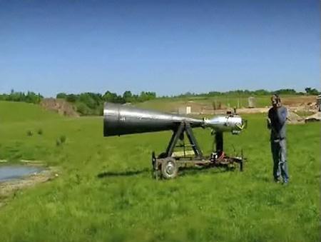vortex gas cannon