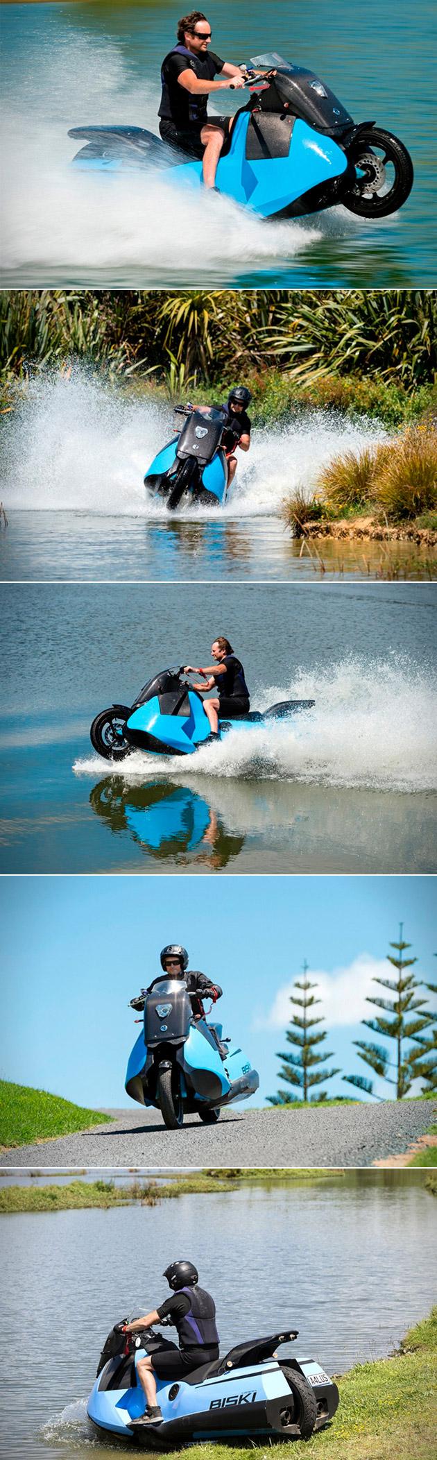 Gibbs Biski Amphibious Vehicle
