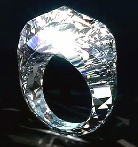 70Million Diamond Ring is First Ever to be Carved from a Giant