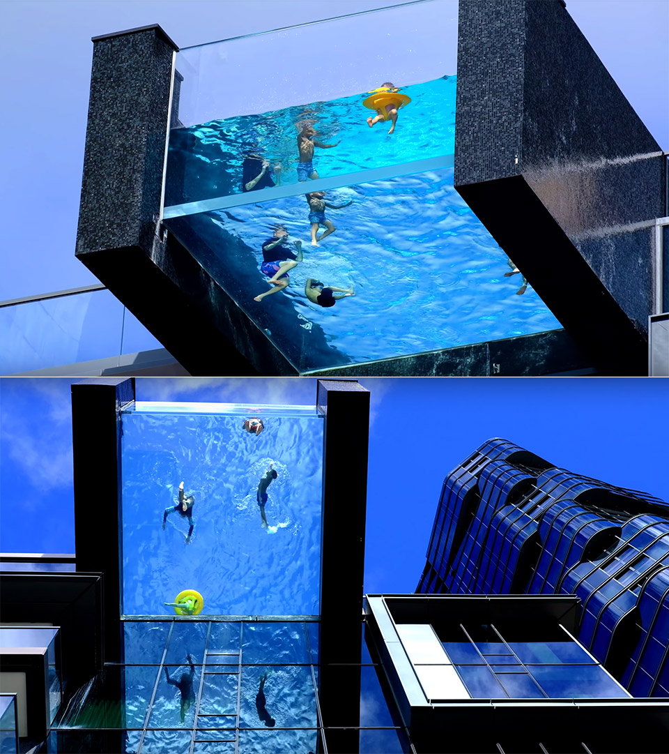 Glass Bottom Pool Honolulu