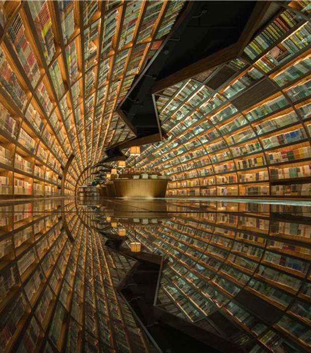 Glass Floor Library