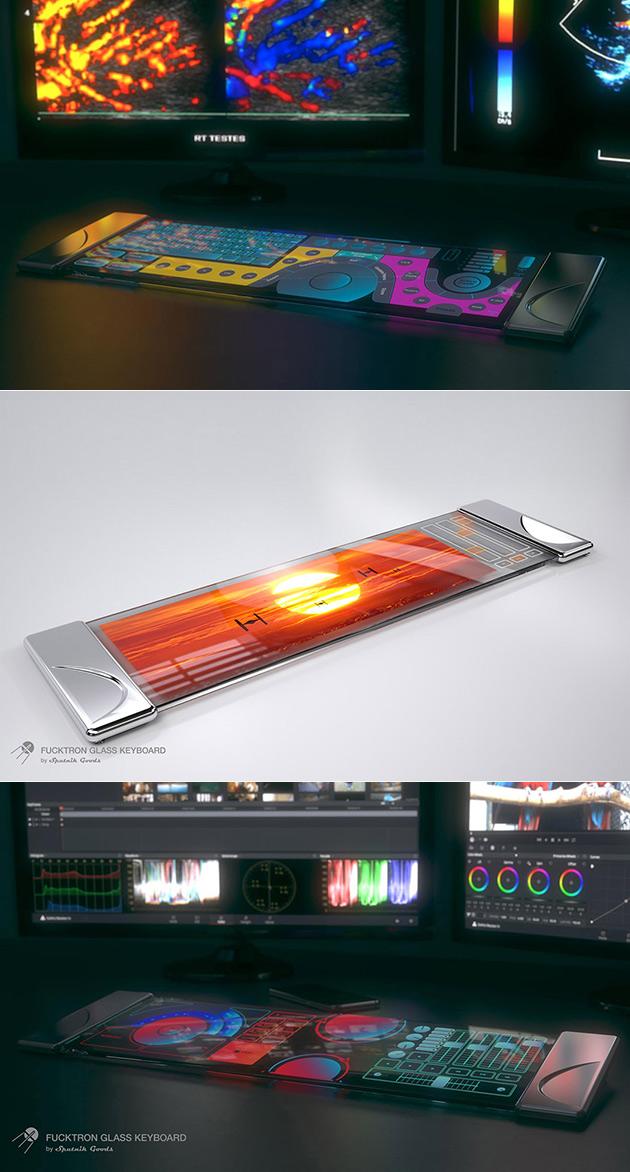 Glass Keyboard