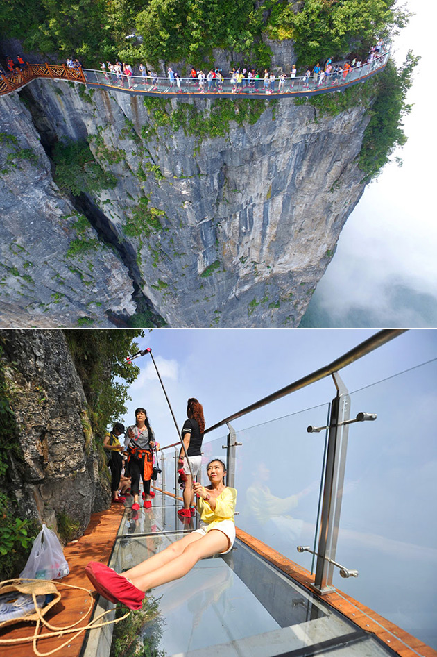 Glass Skywalk China
