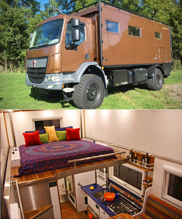 Global Expedition Vehicle Patagonia