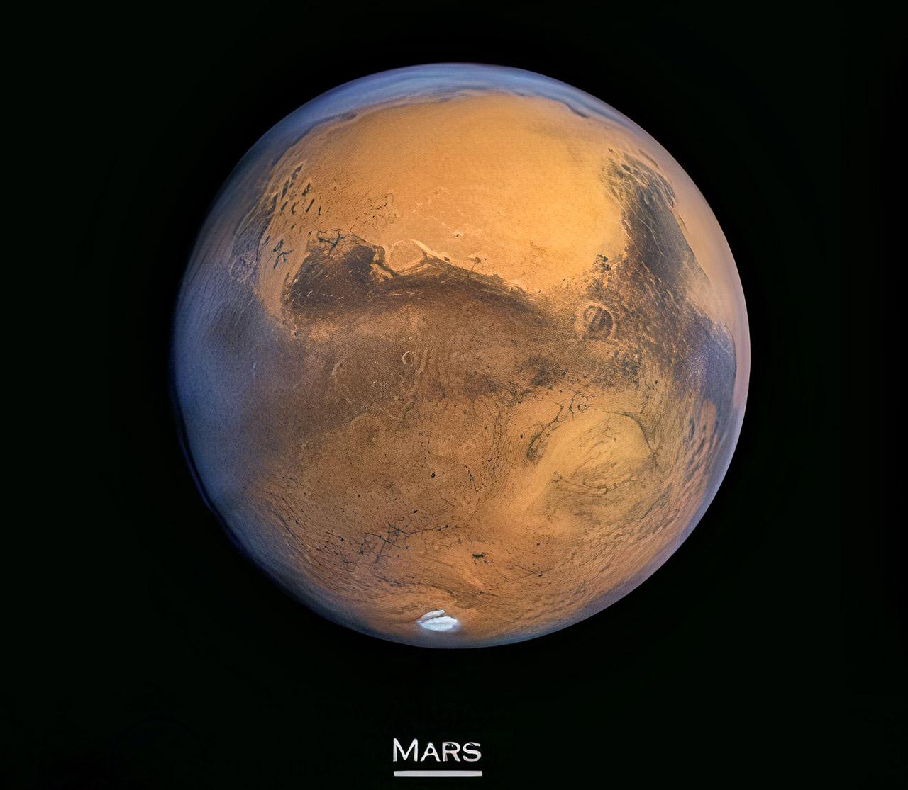 Global Map Mars