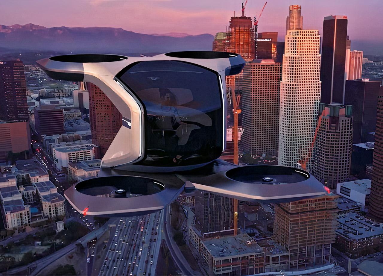 GM Cadillac VTOL Drone