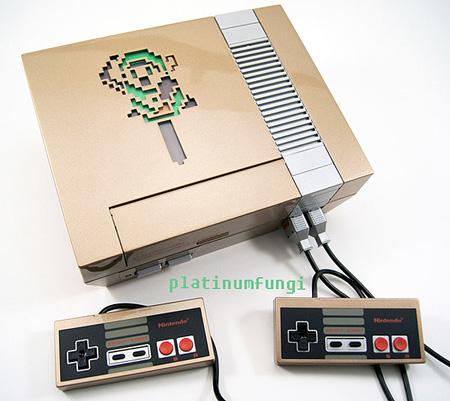 Stunning Golden The Legend of Zelda NES Case Mod – TechEBlog