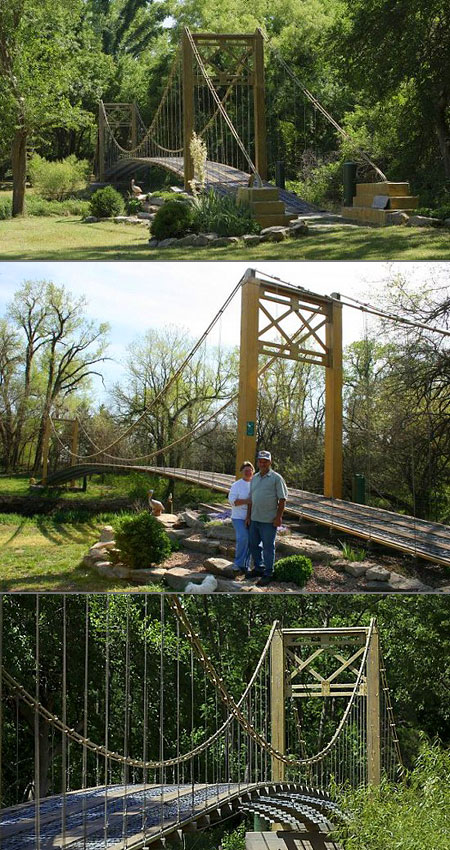 Guy Spends 11 Years Building 150 Foot Replica Of The