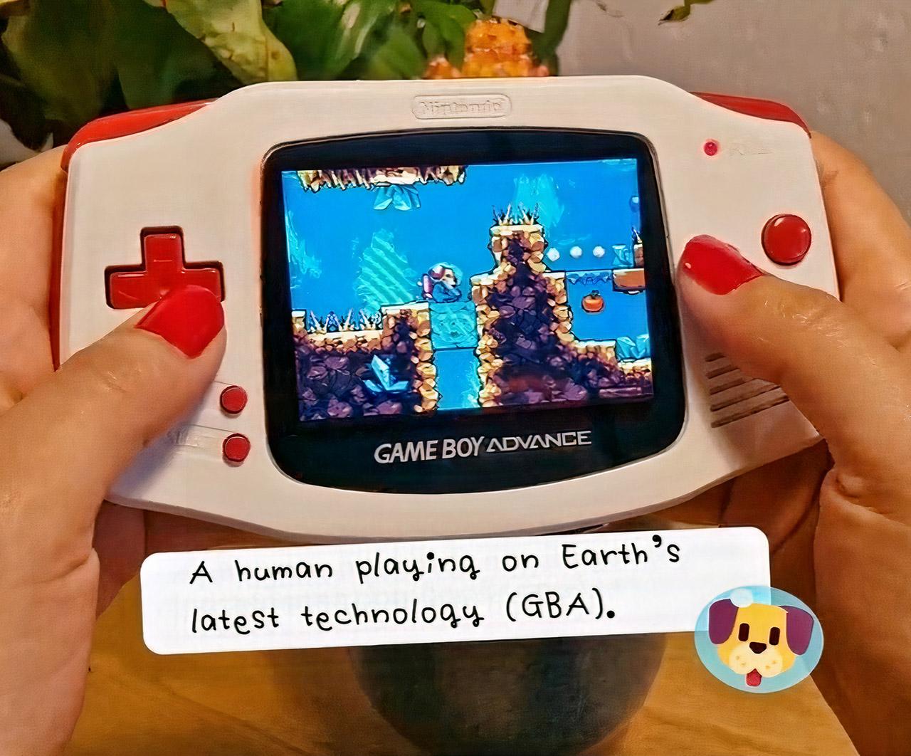 Goodboy Galaxy Game Boy Advance GBA Game