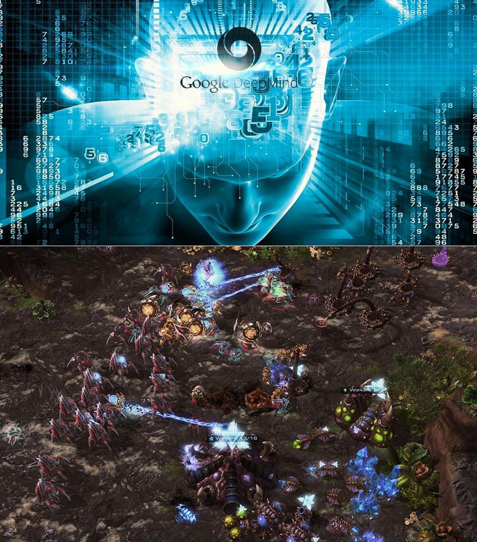 Google DeepMind StarCraft II
