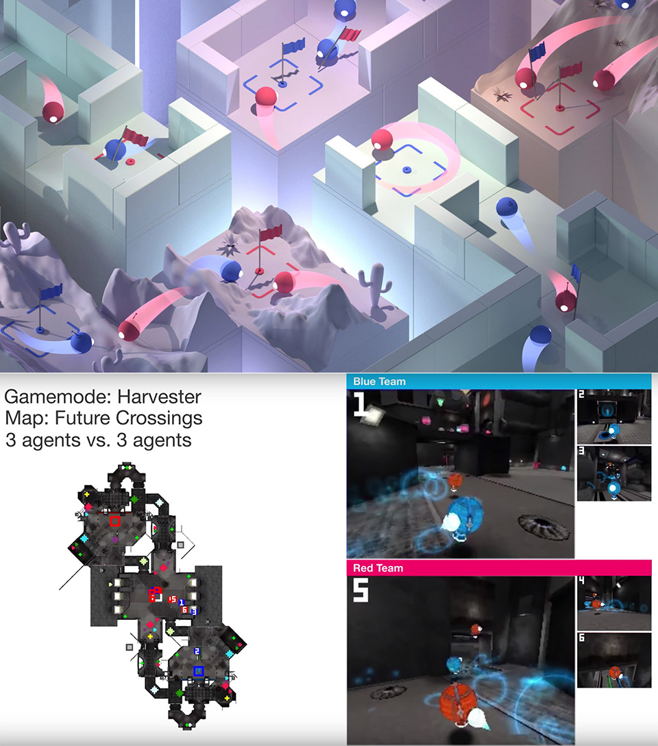 Google DeepMind Artificial Intelligence Quake III Arena