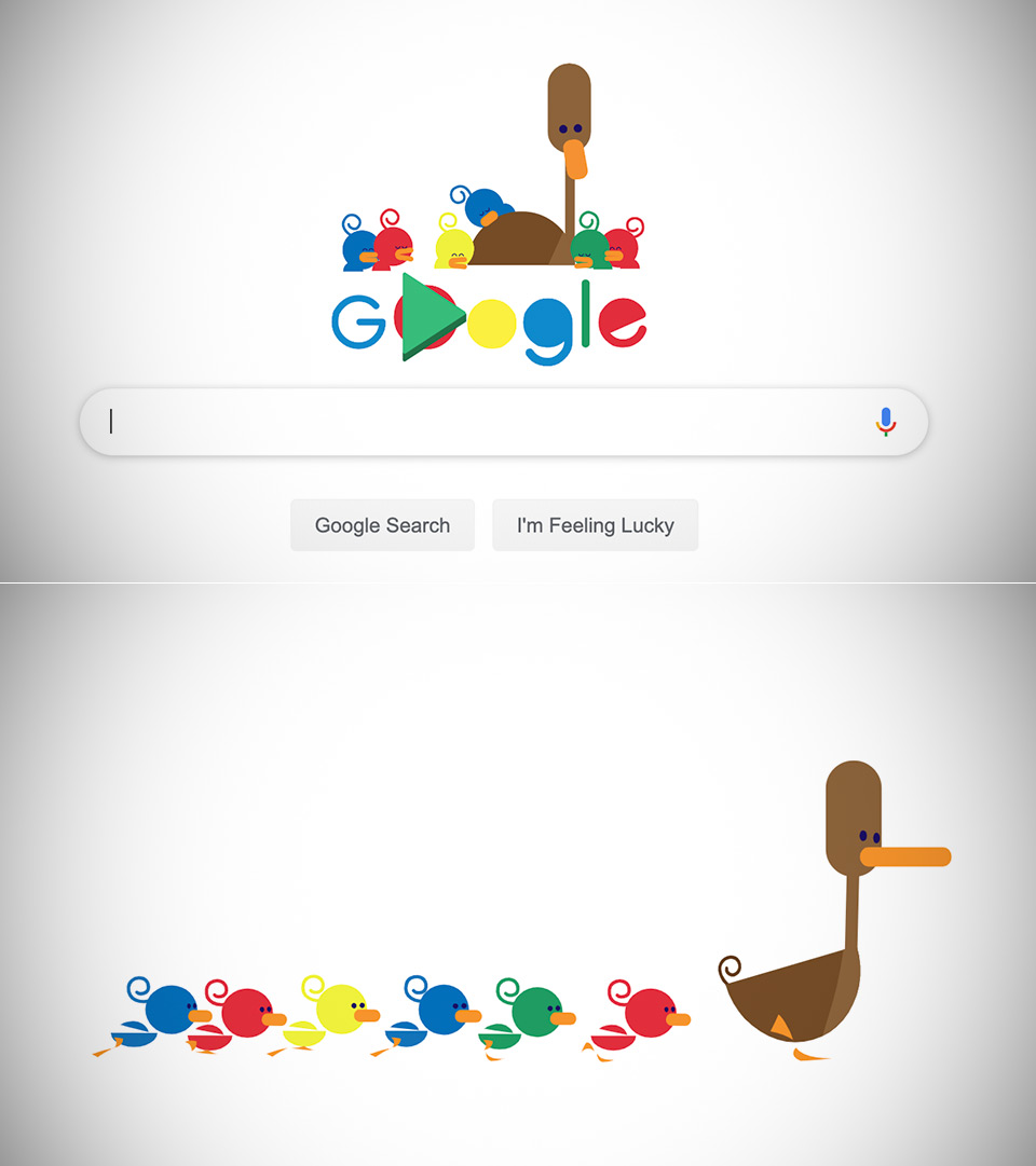Google Doodle Mother's Day