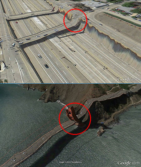 20 Bizarre Things You Shouldn39;t See On Google Earth  TechEBlog