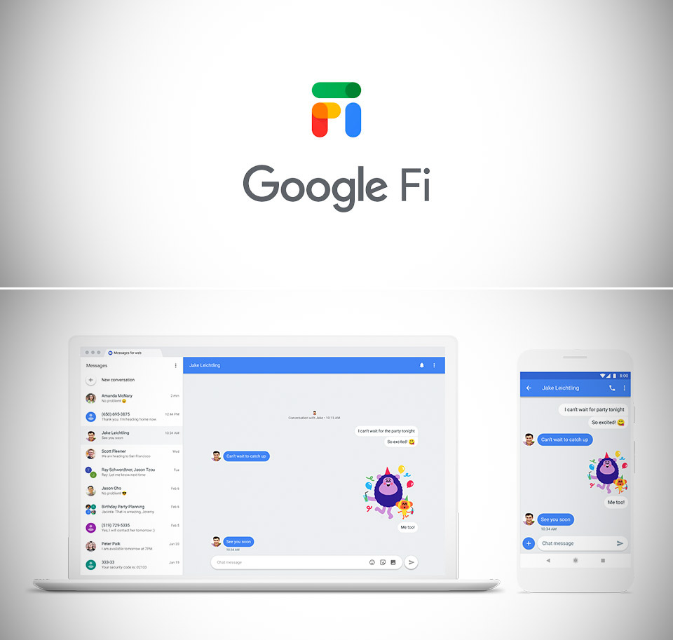 Google Fi Rich Communication Services RCS Text Messaging