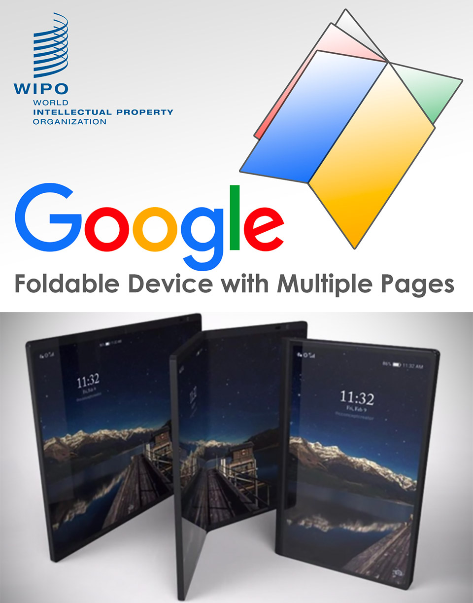 Google Foldable Smartphone Pages