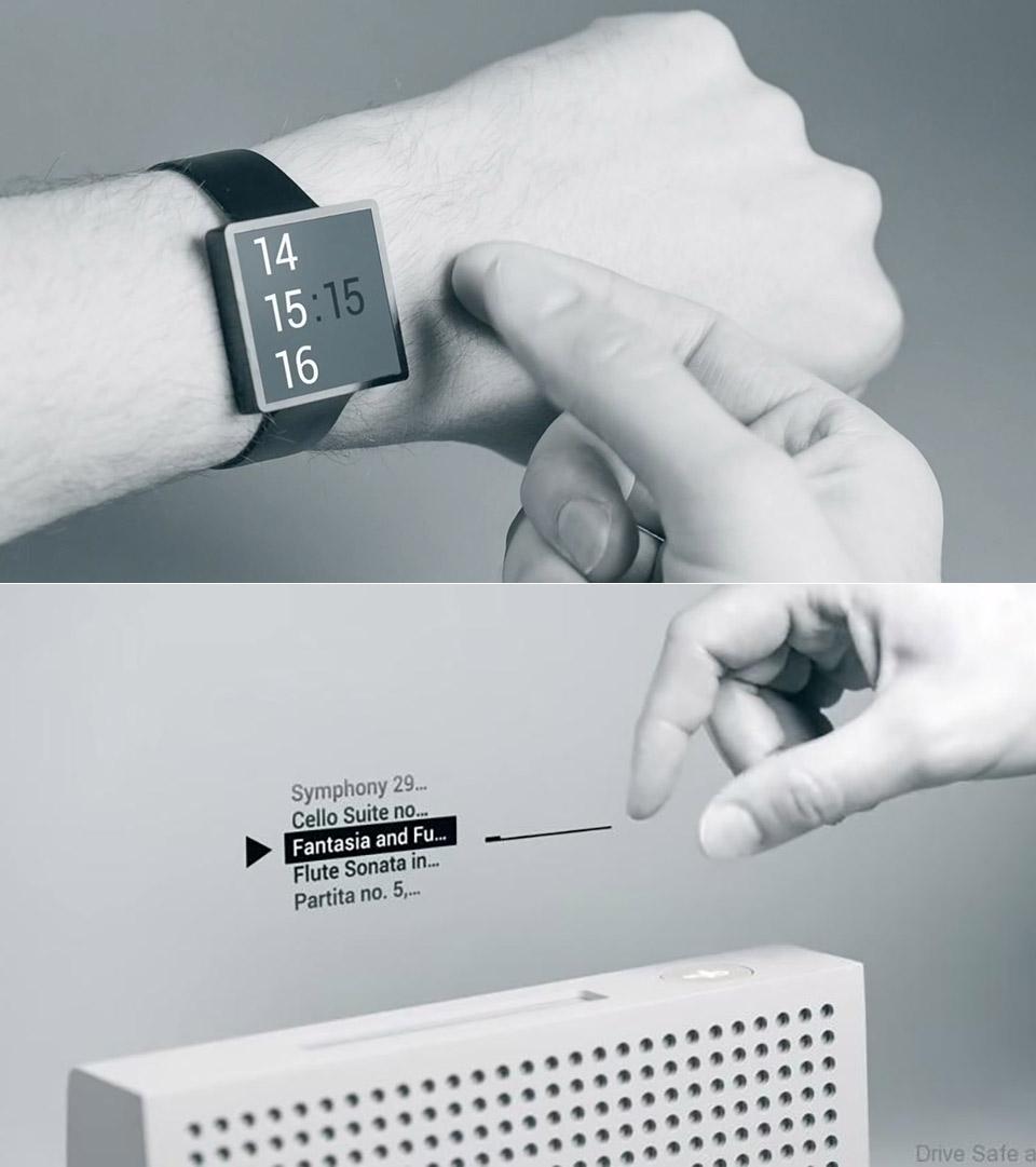 Google Gesture Control